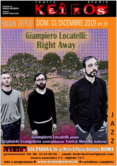 Right Away Giampiero Locatelli
