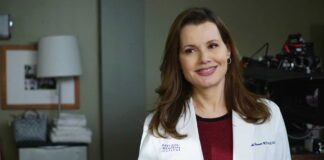 Geena Davis in Grey's anatomy