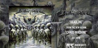 Enemynside: pubblicano il lyric video di 'Deadline'