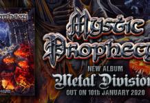 """Mystic Prophecy: il tour di rilascio di """"The Metal Division"""""""