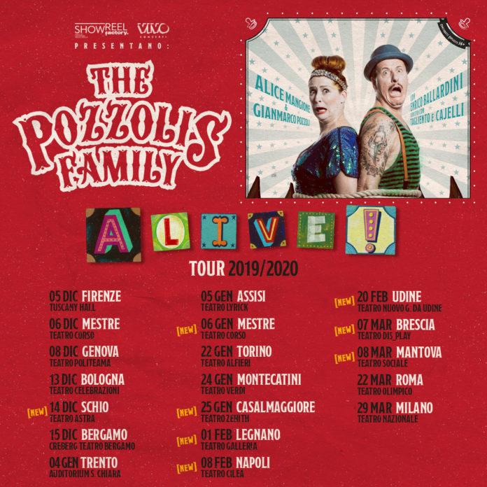 THE POZZOLIS FAMILY in Tour