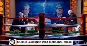 insulti tra Sgarbi e Giordano