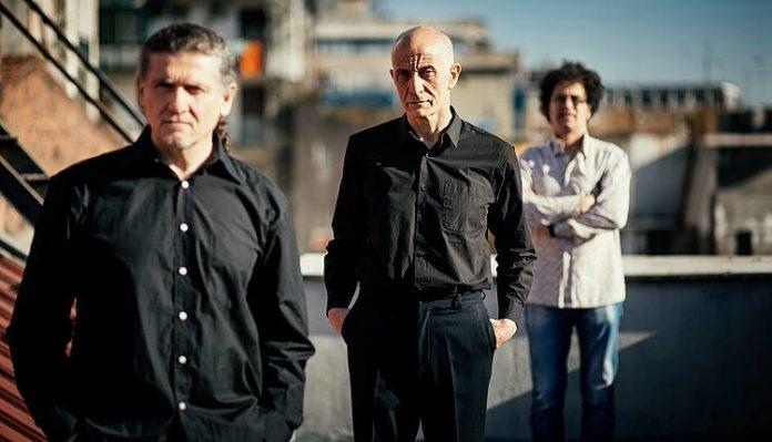 Il trio Javier Girotto, Peppe Servillo e Natalio Mangalavite