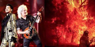 Queen: concerto di beneficenza per l'Australia