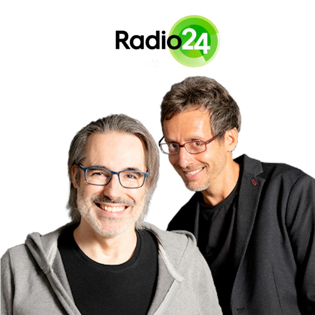 """MATTEO BUSSOLA E FEDERICO TADDIA NEL PROGRAMMA """"PADRIETERNI"""" IN ONDA SU RADIO 24 - ARTICOLO DI LOREDANA CARENA"""