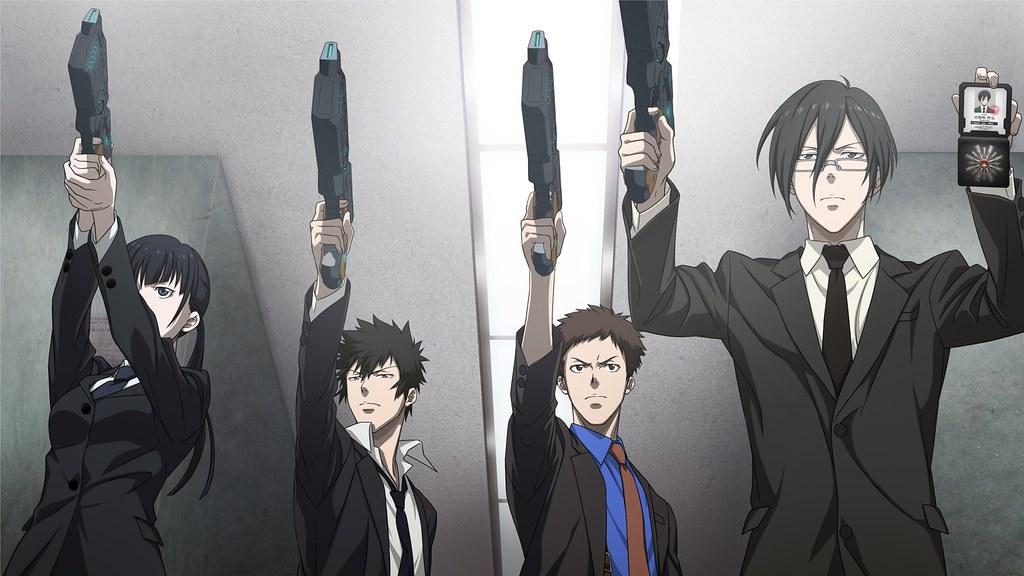 Psycho-Pass, Shiny Kogami e Ginoza, Oriente a ruota libera, Sibyl Sistem