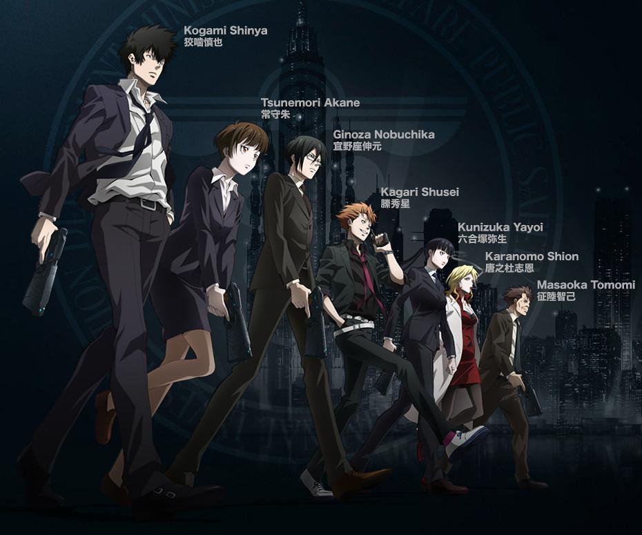 Oriente a ruota libera, Psycho-Pass, La squadra di Akane Tsunemori, Sibyl System