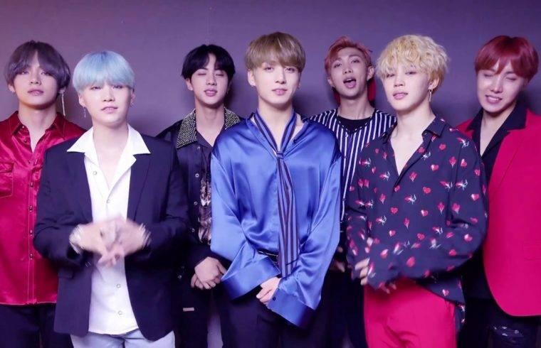 I BTS, il più famoso gruppo K-Pop,
