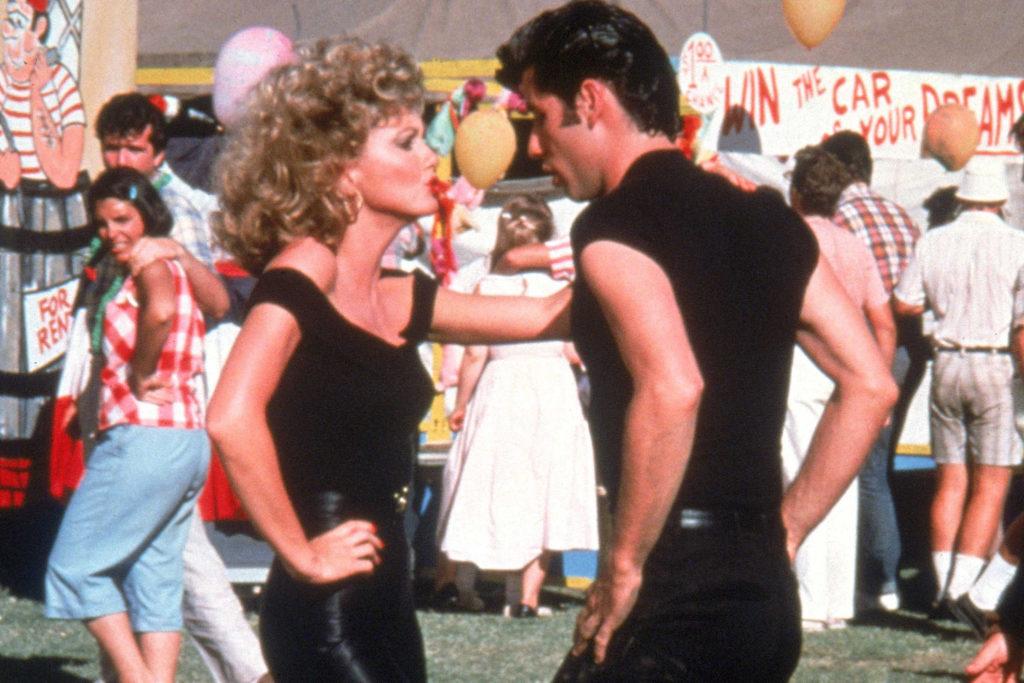 Olivia Newton e John Travolta Outfit grease