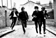 A Hard Day's Night, Beatles che corrono