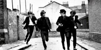 A Hard Day's Night, Beatles che corrono