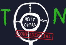 Copertina di Hetty O'Hara Confidential di Elvis Costello