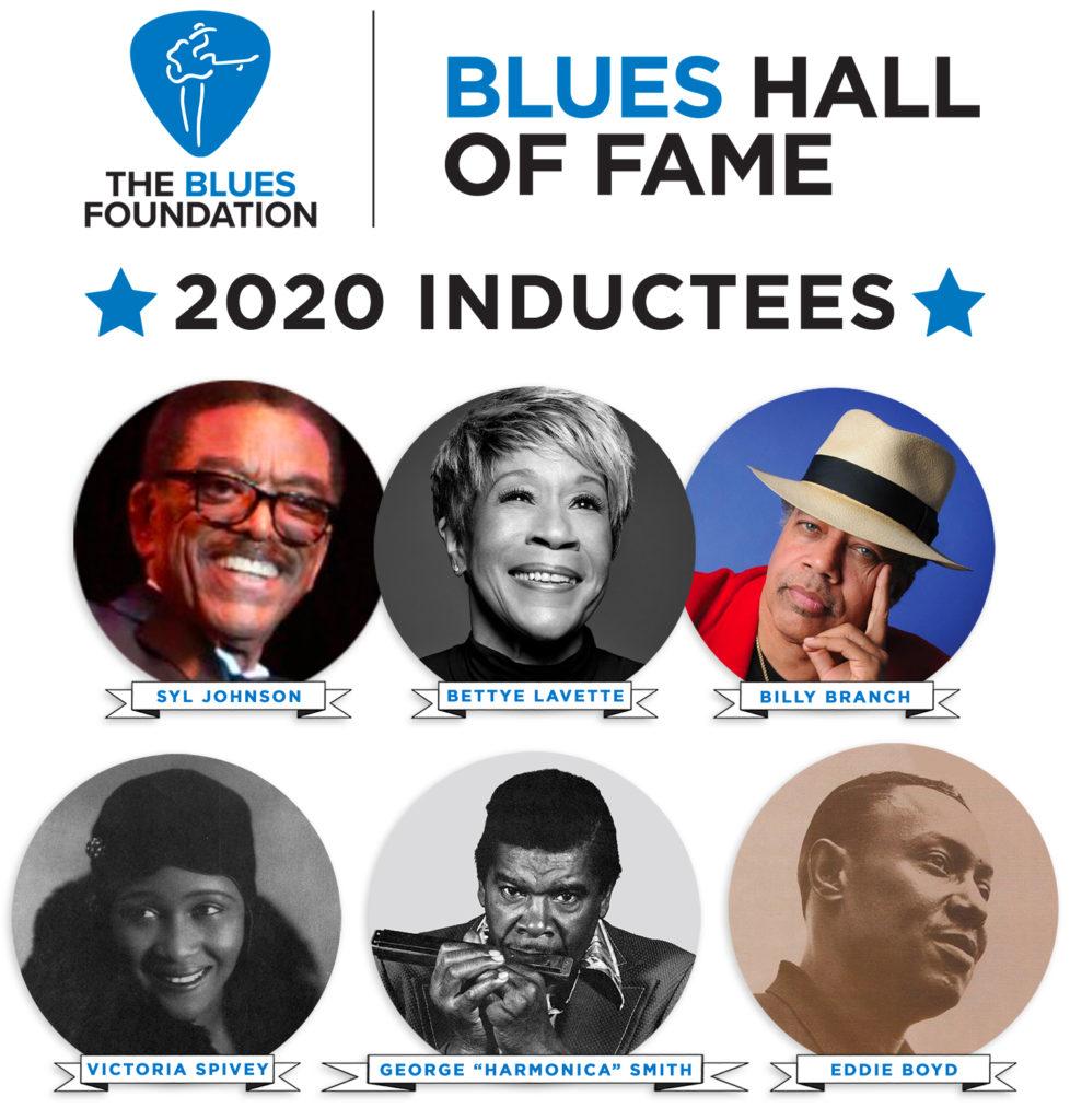I nomi della Blues Hall Of Fame dove compare anche Bettye LaVette che ha ora pubblicato One More Song
