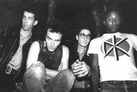 Jello Biafra assieme ai Dead Kennedys