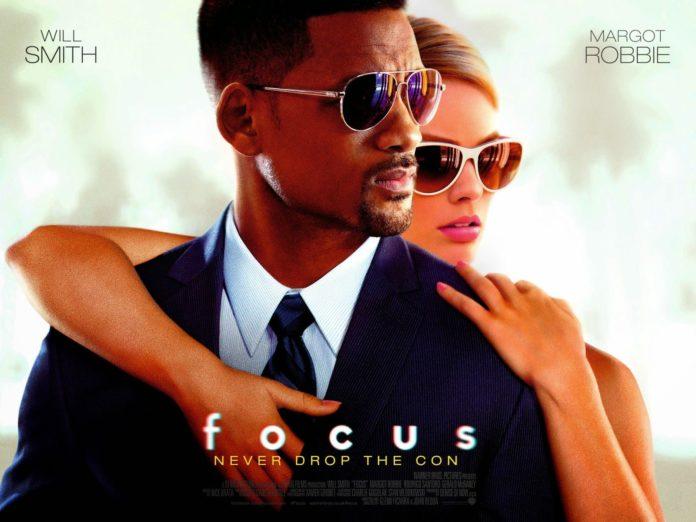 Locandina di Focus film con will smith