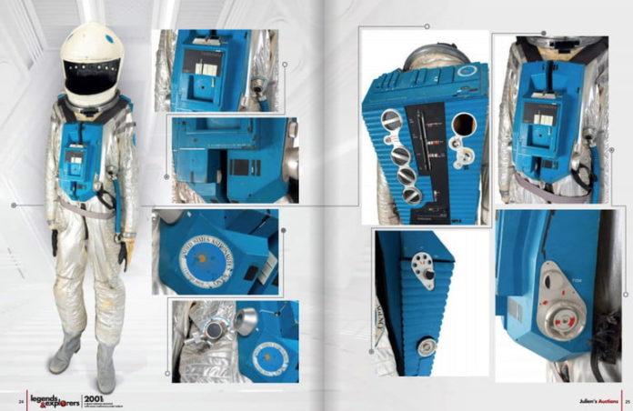 foto della tuta spaziale di 2001 odissea nello spazio che verrà messa all'asta