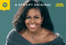 the michelle obama podcast cover