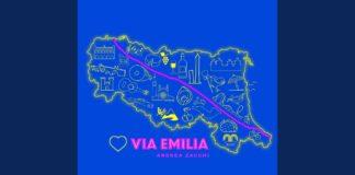 Cover di Via Emilia di Andrea Zacchi