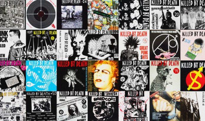 Copertine dischi Killed By Death