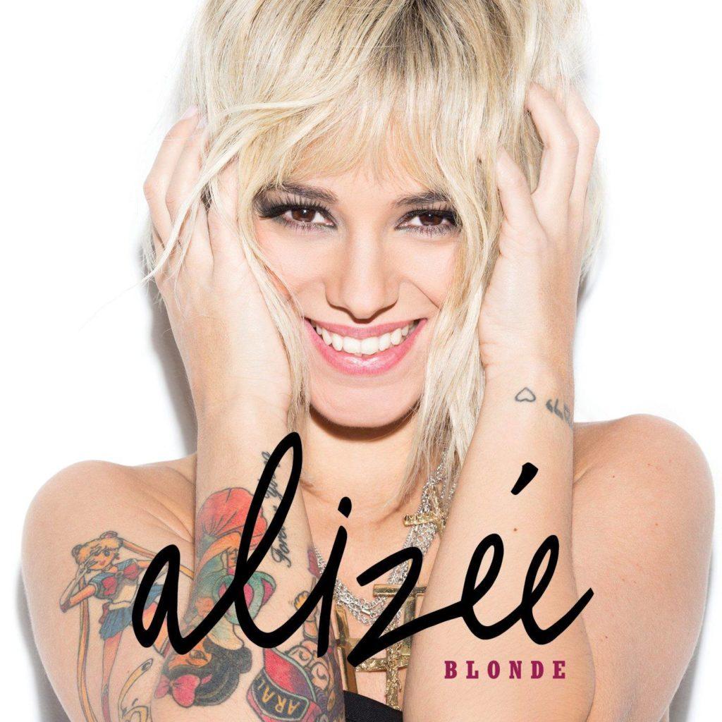 Copertina di Blonde, ultimo album di Alizée