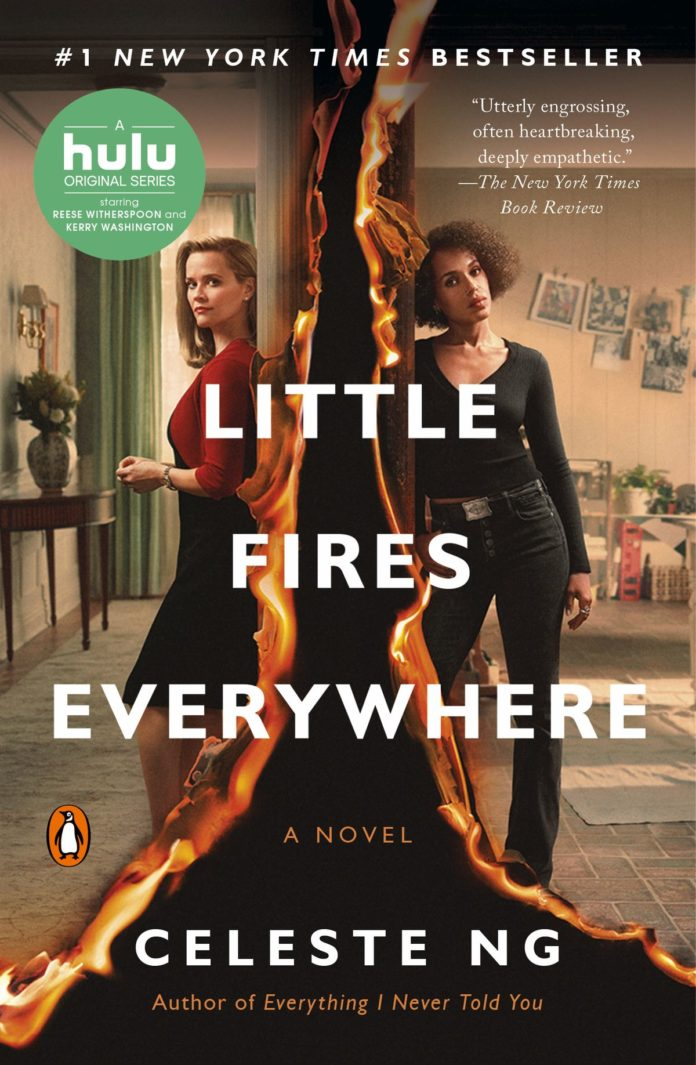 Locandina Little Fires Everywhere con Reese Witherspoon