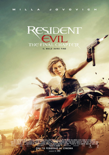 Resident Evil The Final Chapter:  Recensione, Trama, Cast
