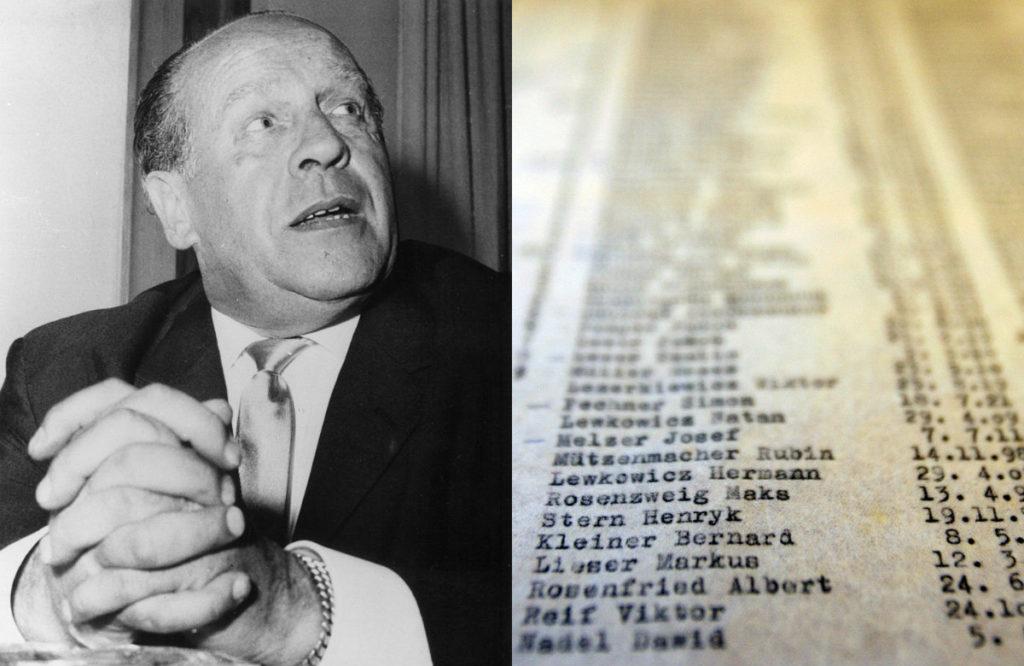 il finale di Schindler's list