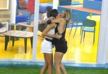 il bacio di Elisabetta Gregoraci