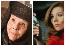 Diana Rigg - collage