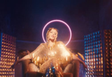 Copertina di Magic di Kylie Minogue