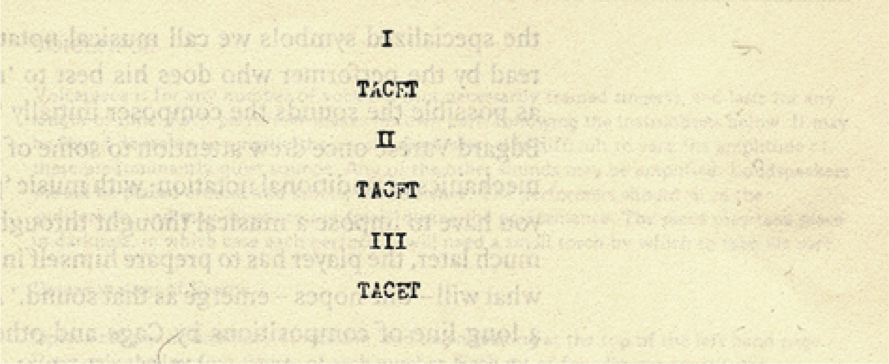John Cage 4.33