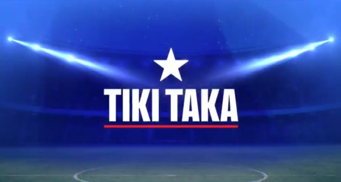 Il cast di Tiki Taka di Chiambretti