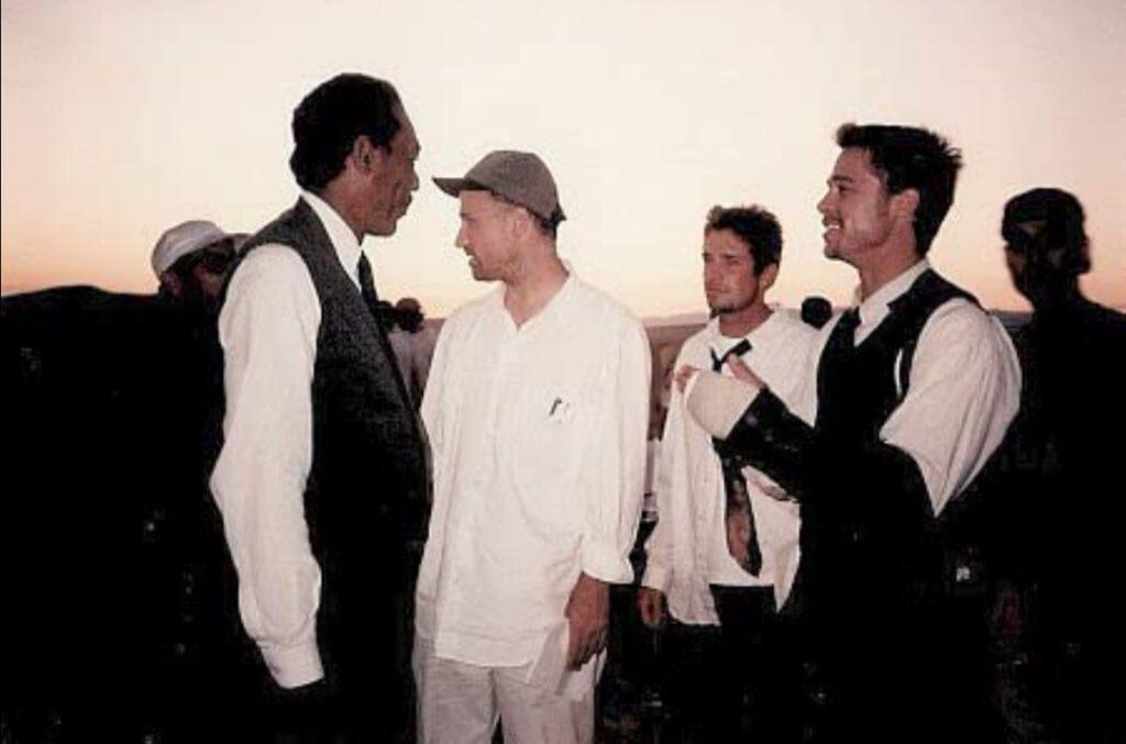 David Fincher, Morgan Freeman