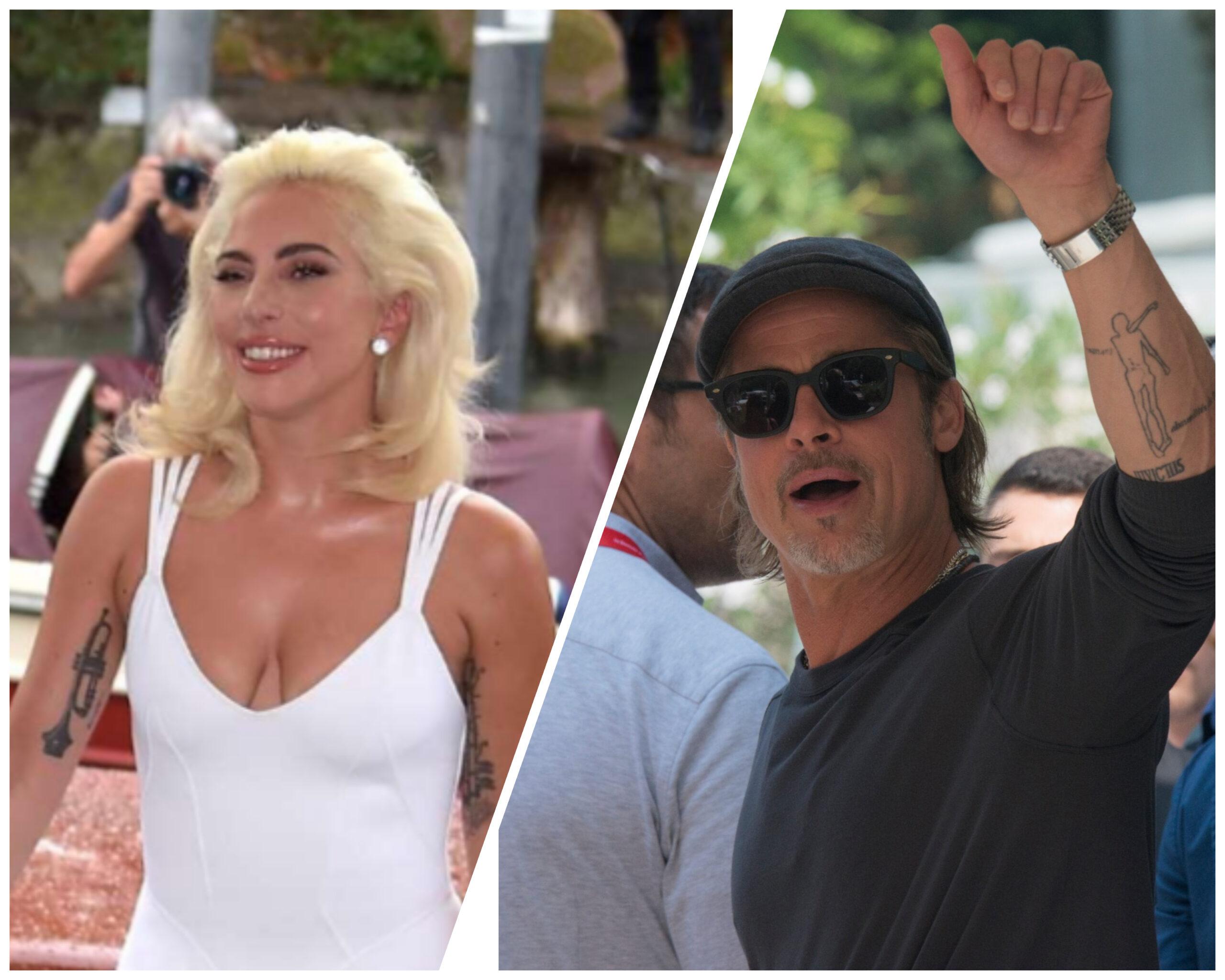 Lady Gaga farà un film con Brad Pitt