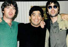 NME ripota di un battibecco tra Maradona e gli Oasis