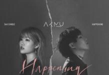 AKMU sulla copertina di Happening
