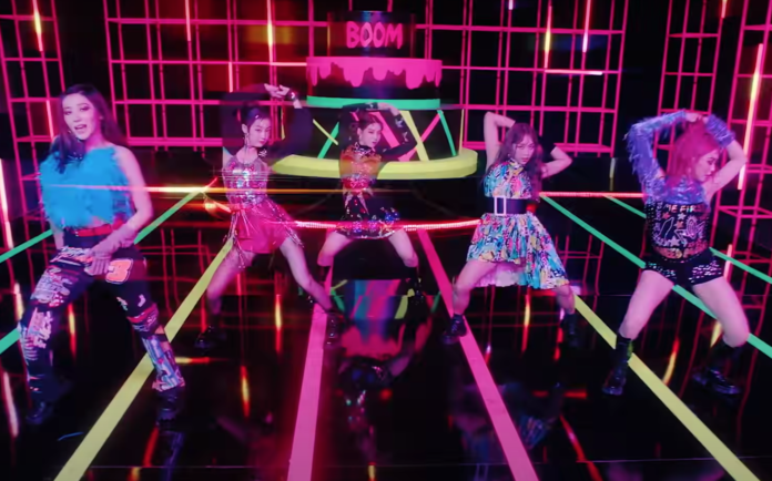 K-pop, video delle Secret Number