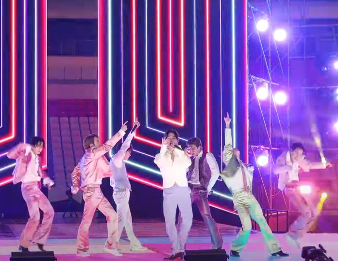 I BTS sul palco American Music Awards