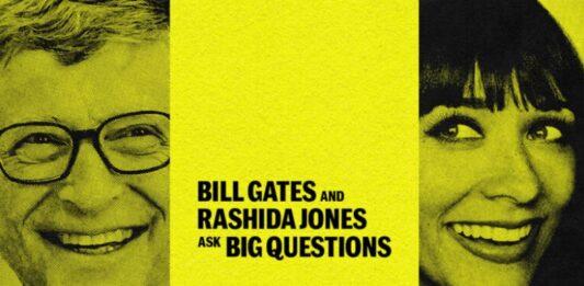Bill Gates e Rashida Jones