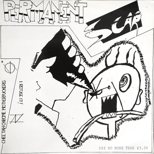 Copertina dello split album del 1983 dei Cheetah Chrome Motherfucker e I Refuse It!
