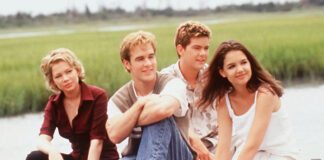 Foto promozionale del cast di Dawson's Creek