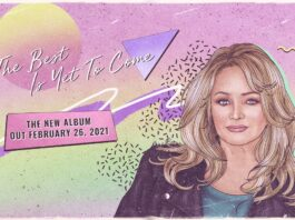 Bonnie Tyler, copertina di The Best Is Yet To Come