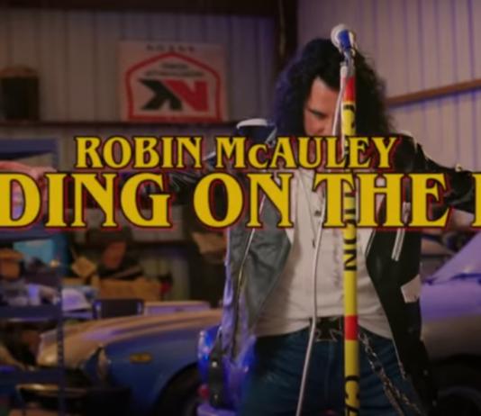 Standing of the Edge, il nuovo singolo di Robin McAuley