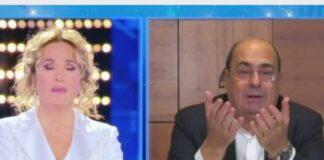 Zingaretti sostiene Barbara D'Urso