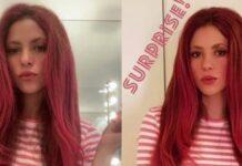 nuovo look di Shakira