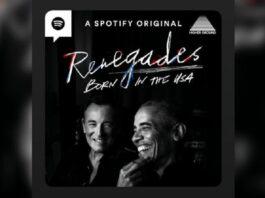 Obama e Springsteen podcast