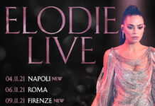 Elodie Live: le tappe della tournéè