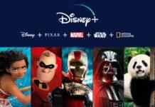 Il catalogo Disney+