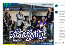 Aerosmith headliner agli I-Days 2022