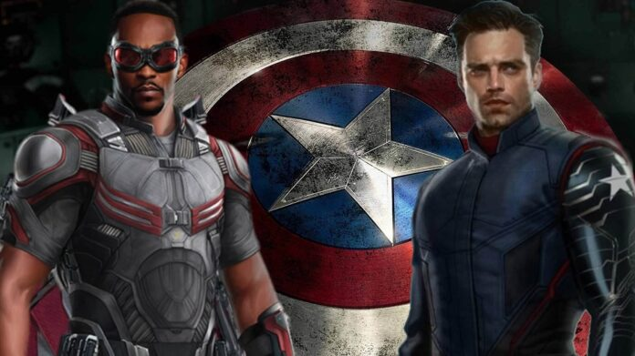 The Falcon and The Winter Soldier action figures